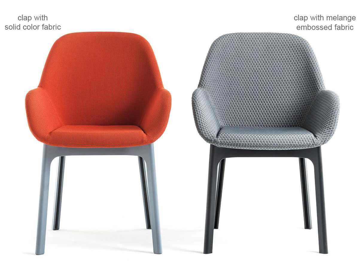 Clap Chair With Solid Fabric Hivemodern Com