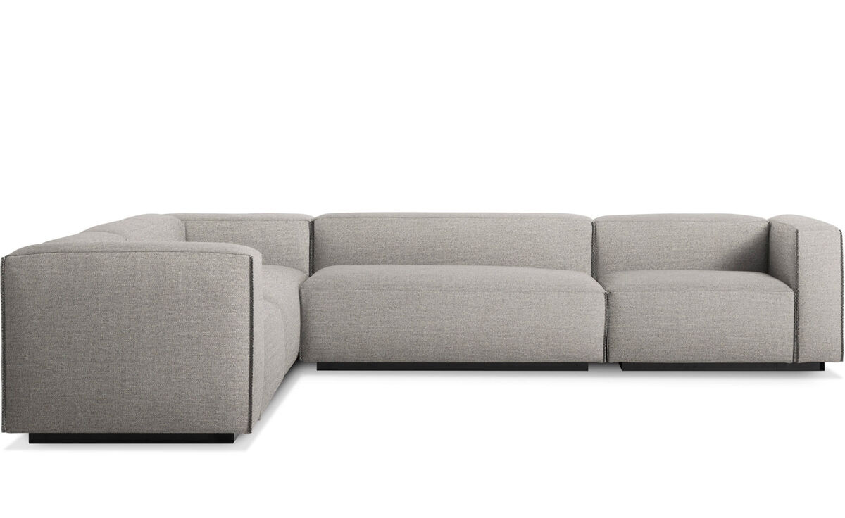 cleon large sectional sofa blu dot