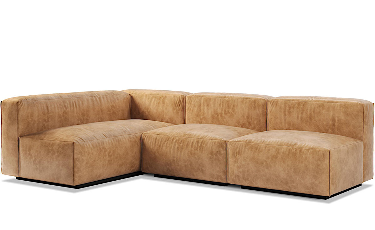 Cleon Medium Sectional Sofa Hivemodern Com