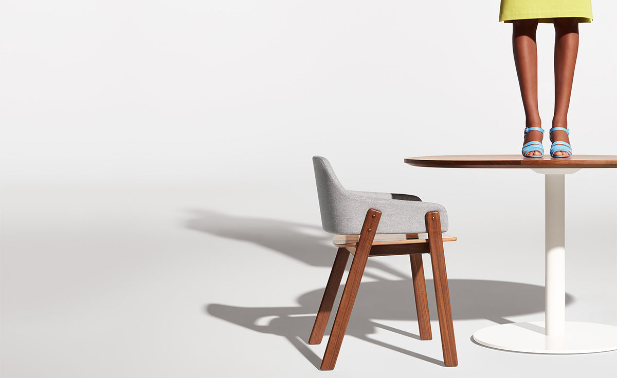 Clutch Dining Chair Hivemodern Com