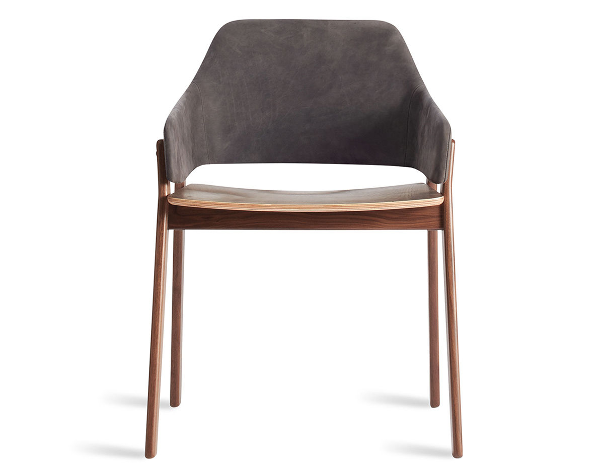 Clutch Leather Chair Hivemodern Com