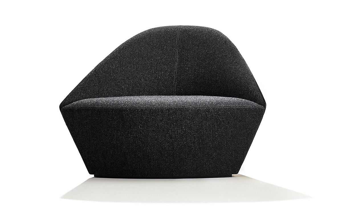 Colina Fully Upholstered Lounge Chair hivemodern