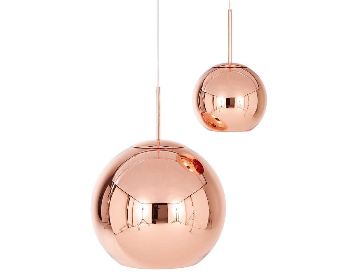 Attractive Copper Shade Pendant Light