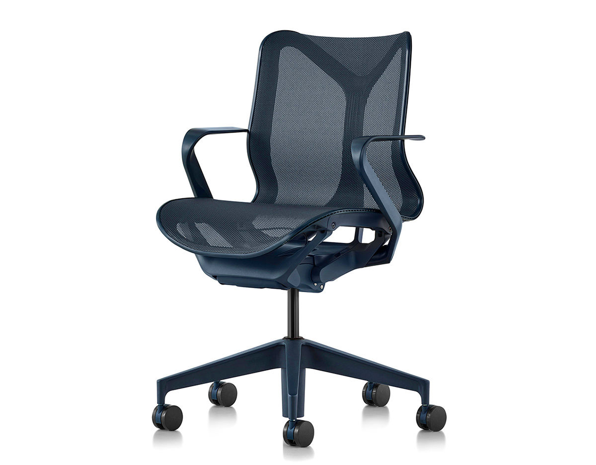 Cosm Low Back Task Chair Dipped In Color Hivemodern Com