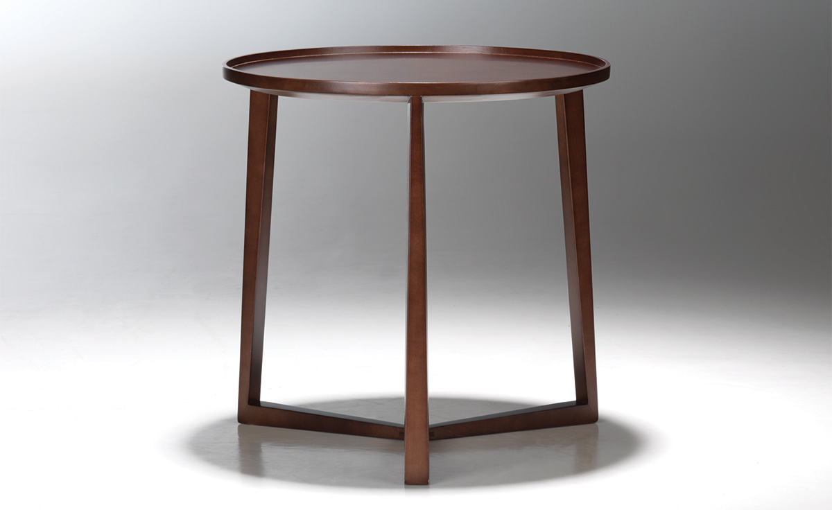 Curio Side Table Hivemodern Com