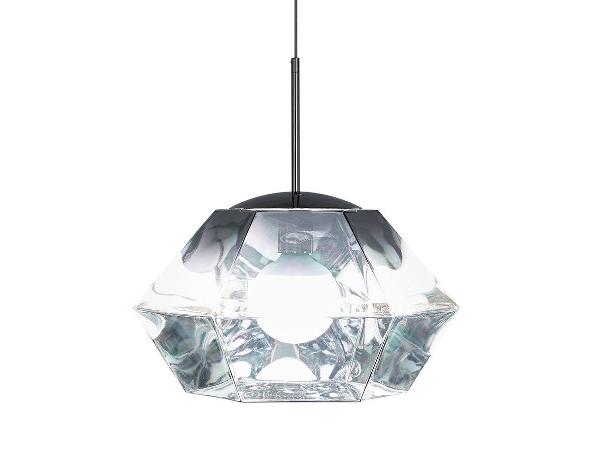 cut short suspension lamp. Black Bedroom Furniture Sets. Home Design Ideas