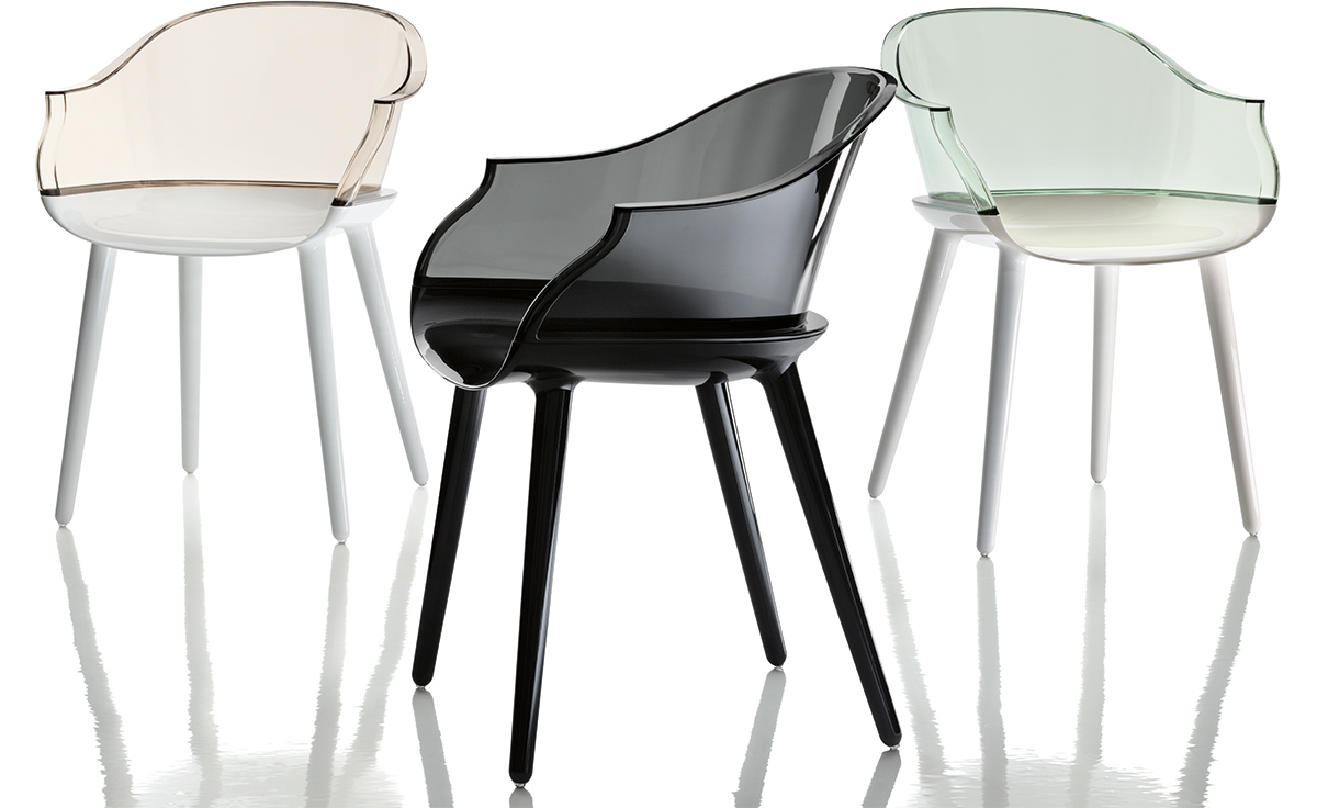 Magis cyborg armchair for Chaise transparente ikea