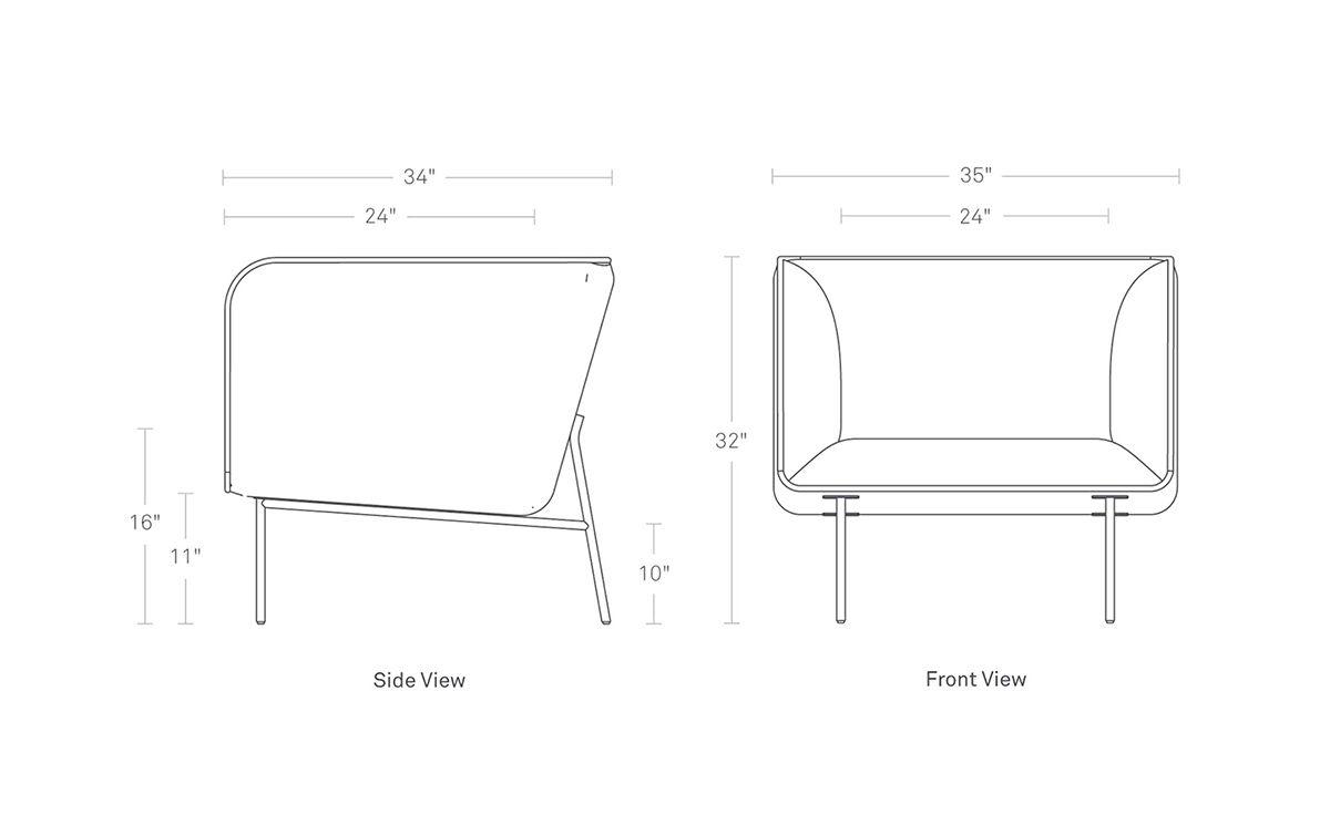 Dandy Lounge Chair Hivemodern Com