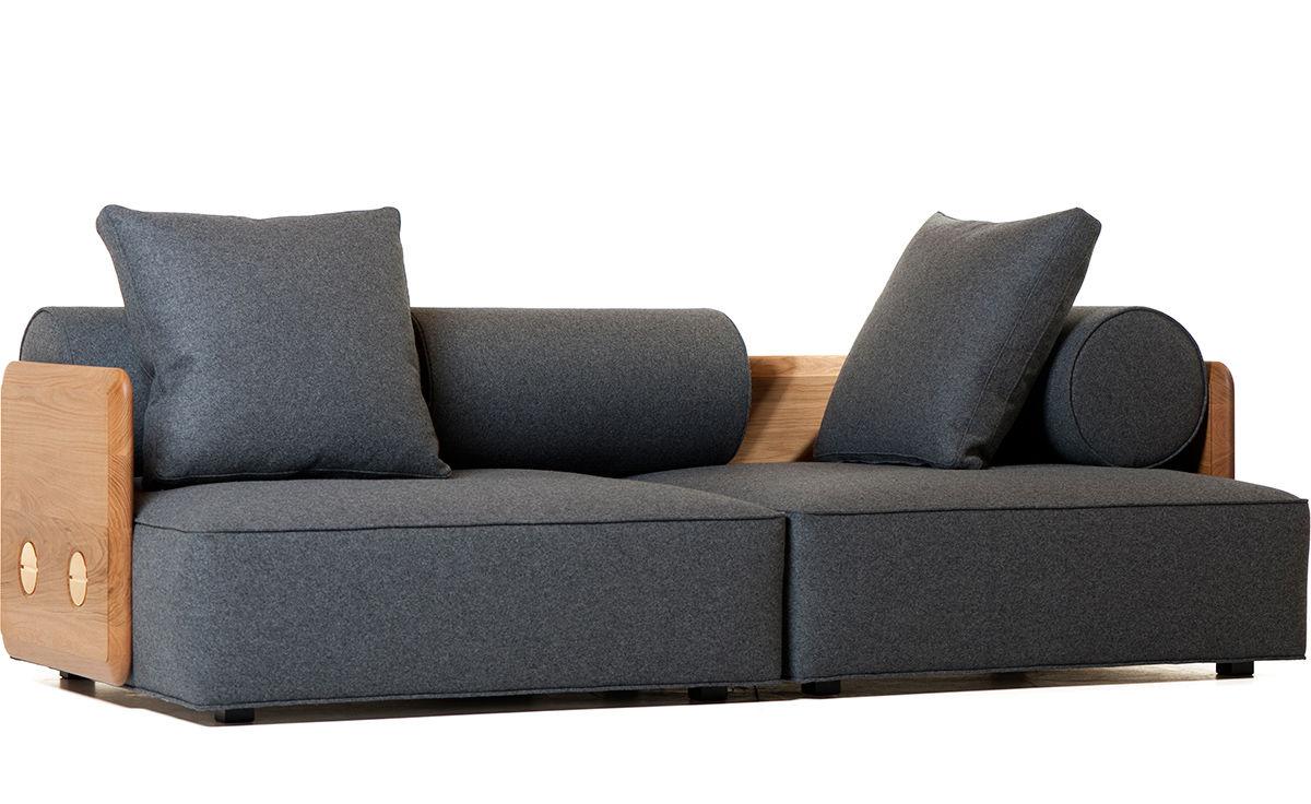 Outstanding Deco Sofa Medium 243M Evergreenethics Interior Chair Design Evergreenethicsorg