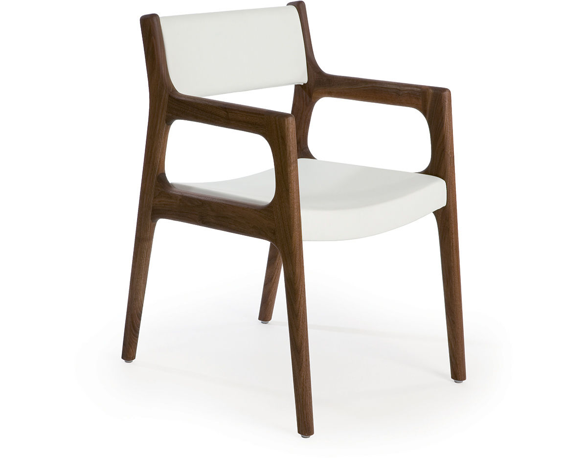 Wooden chairs with armrest - Overview