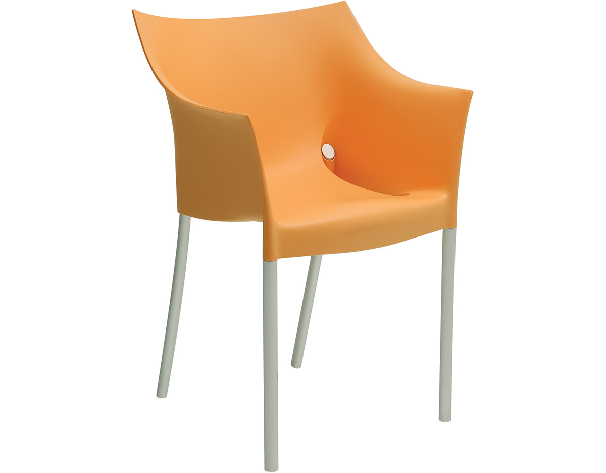 dr no chair 2 pack philippe starck kartell - Stackable Patio Chairs