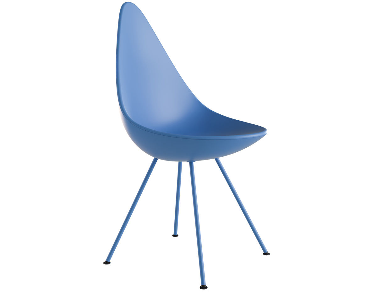 Drop Chair Plastic Hivemodern Com