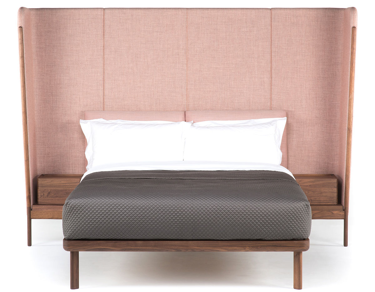 Dubois Tall King Size Bed With Side