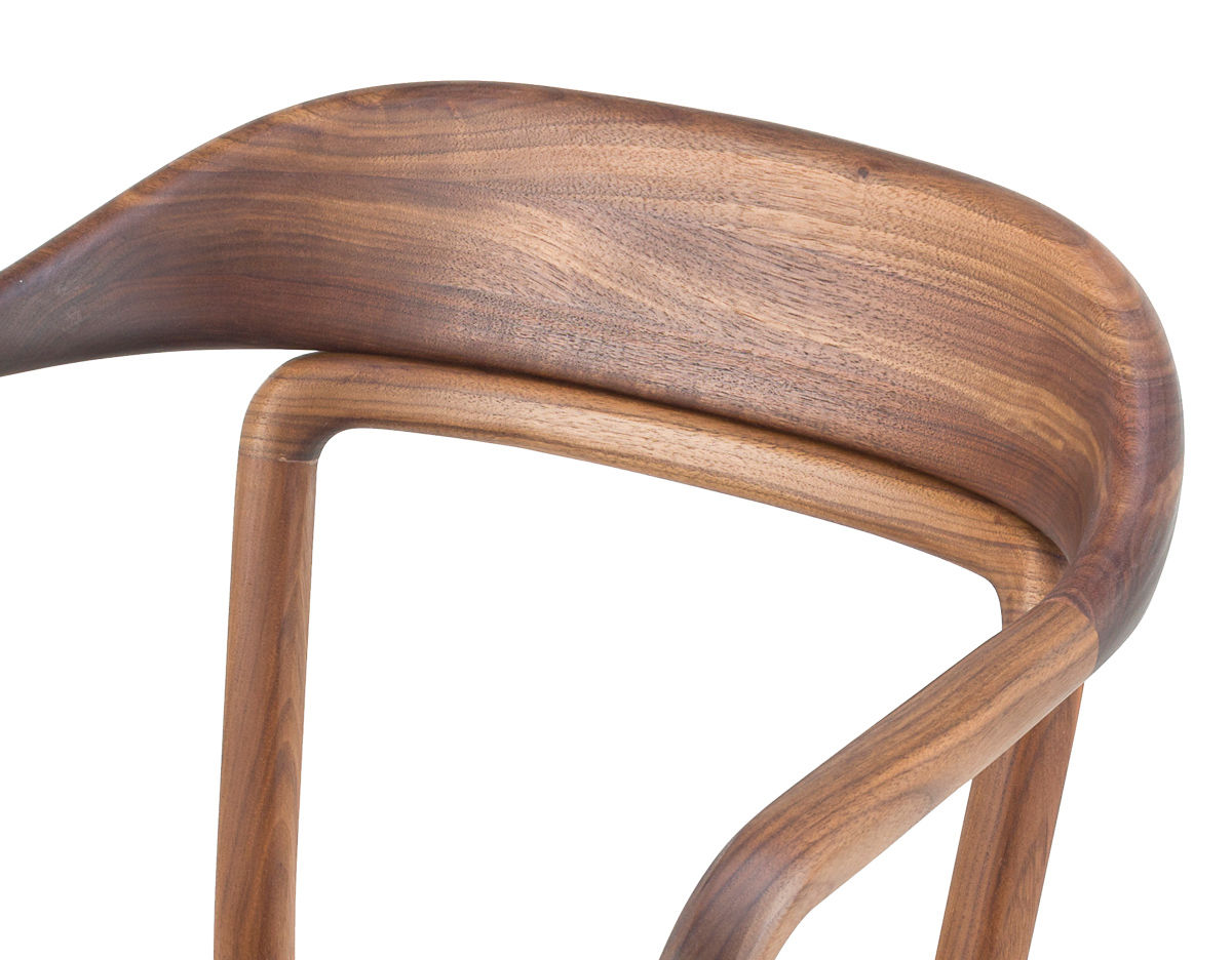 Duet Chair With Timber Seat 753