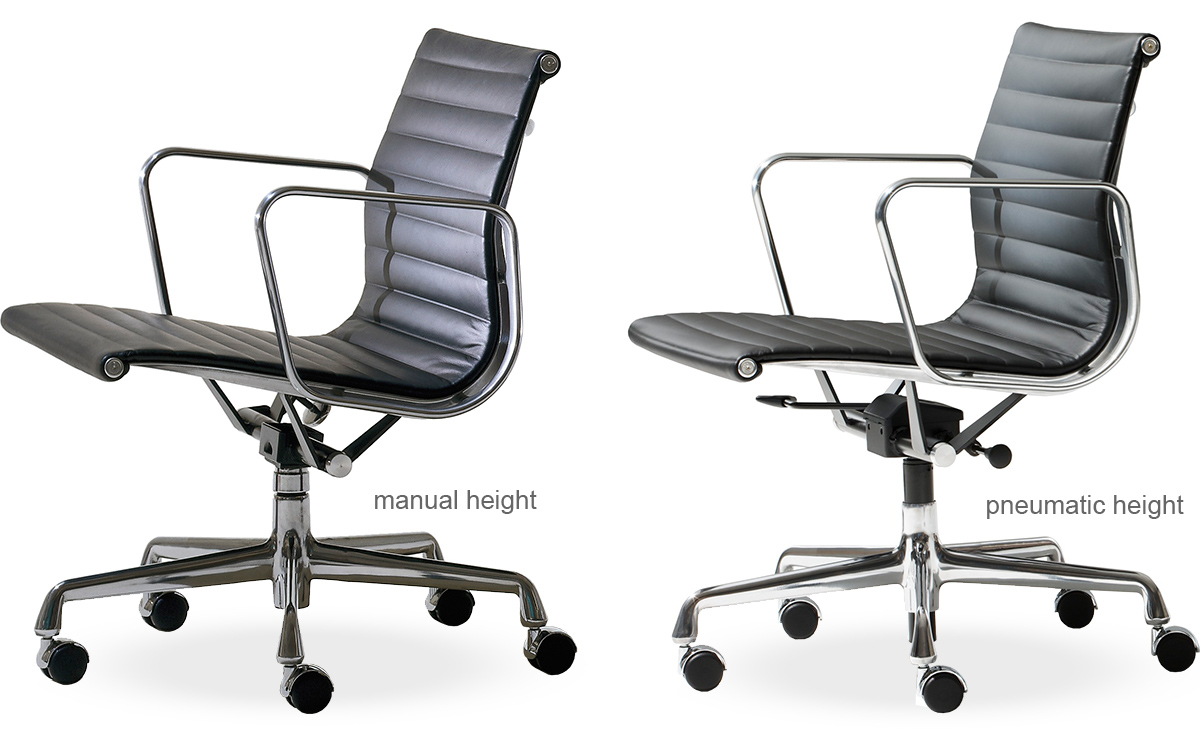 eames® aluminum group management chair  hivemoderncom - overview