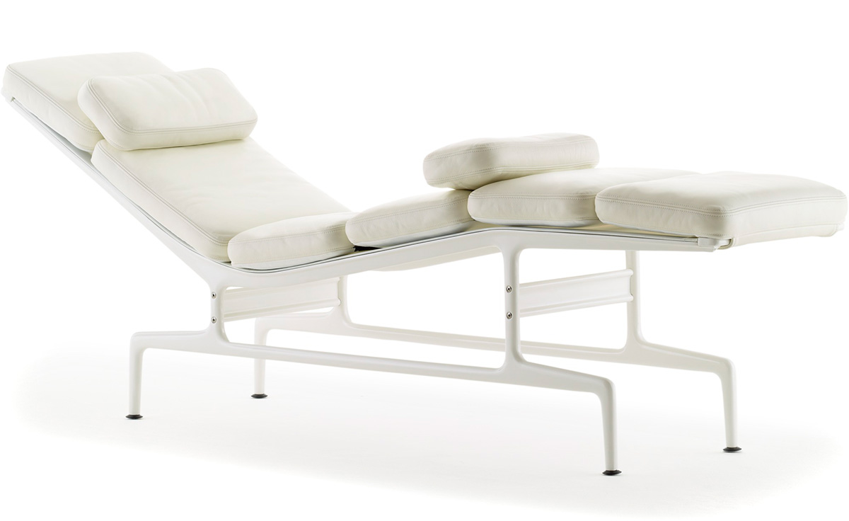 Eames chaise for Charles eames chaise a bascule