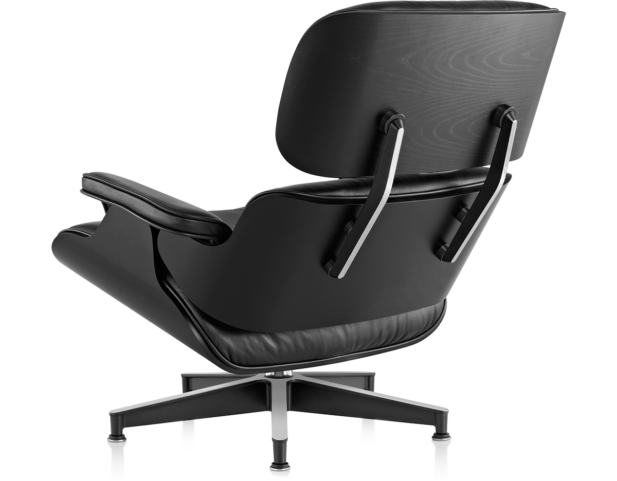 Ebony Eames Lounge Chair Without Ottoman hivemodern