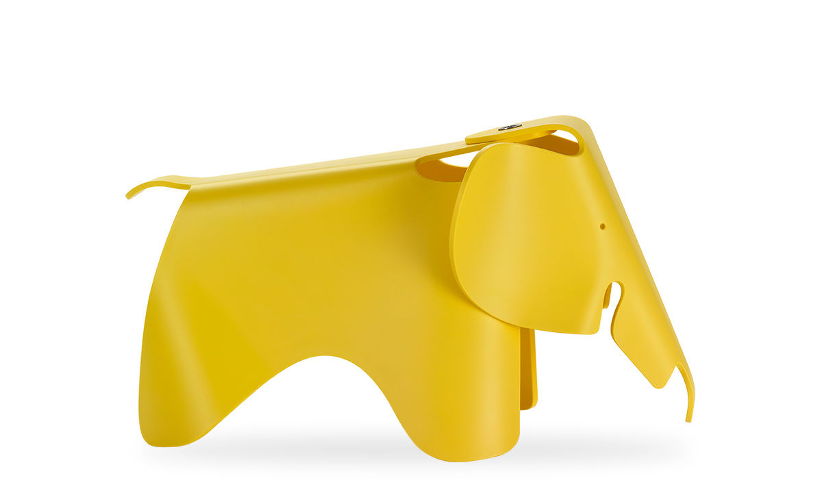Astounding Eames Elephant Plastic Small Gmtry Best Dining Table And Chair Ideas Images Gmtryco