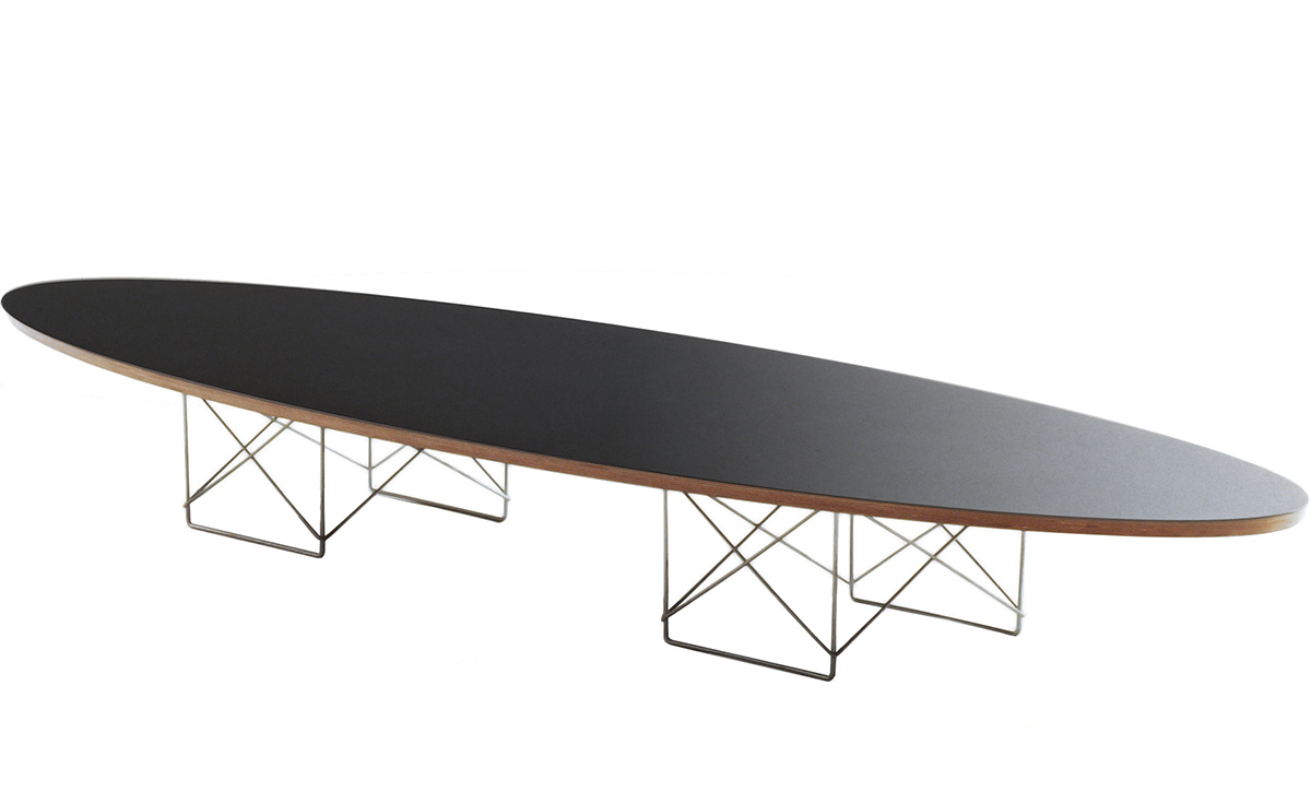 eames elliptical table. Black Bedroom Furniture Sets. Home Design Ideas