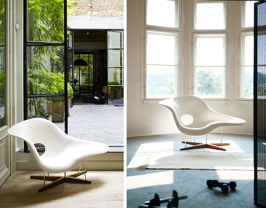 eames la chaise. Black Bedroom Furniture Sets. Home Design Ideas