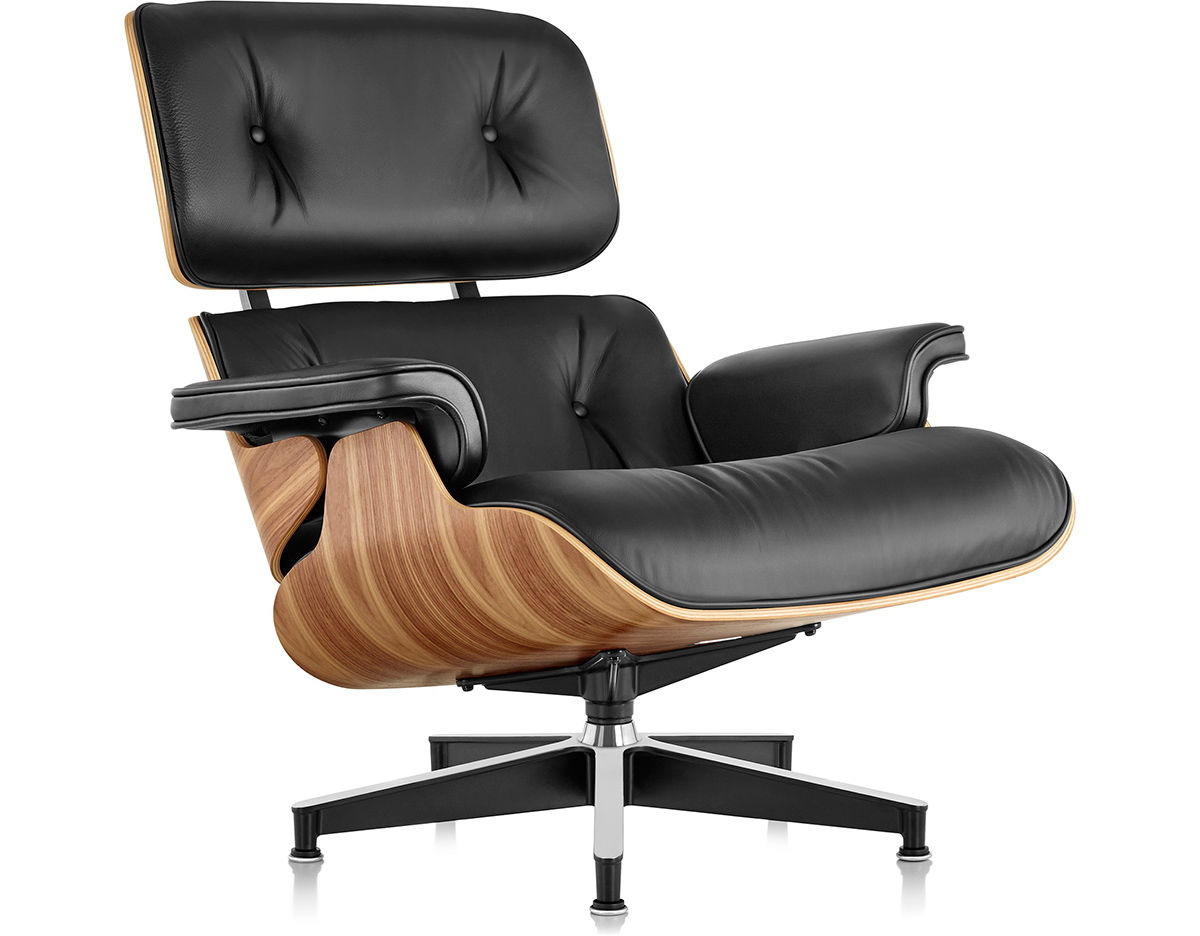 Eames lounge chair without ottoman for Design eames