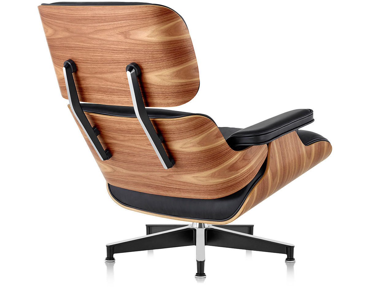 eames lounge chair without ottoman. Black Bedroom Furniture Sets. Home Design Ideas