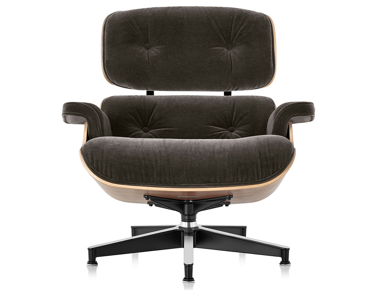 Eames 174 Lounge Chair In Mohair Supreme Hivemodern Com