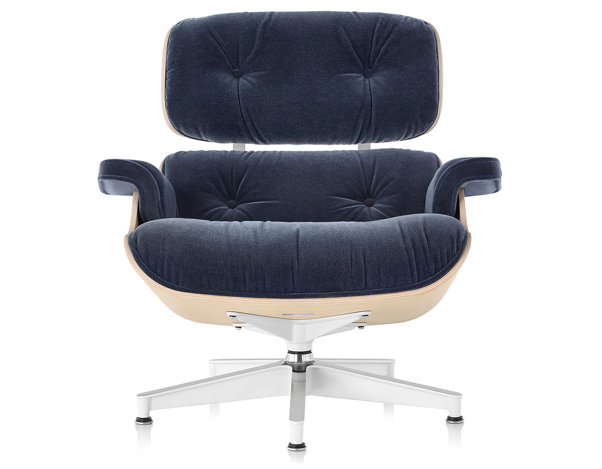 Fabulous Eames Lounge Chair In Mohair Supreme Caraccident5 Cool Chair Designs And Ideas Caraccident5Info