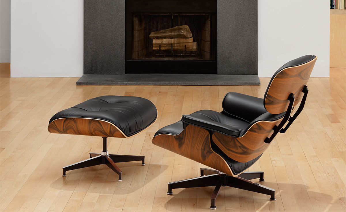 Eames174 Lounge Chair amp Ottoman hivemoderncom : eames lounge chair ottoman charles and ray eames herman miller 11 from hivemodern.com size 1200 x 736 jpeg 67kB