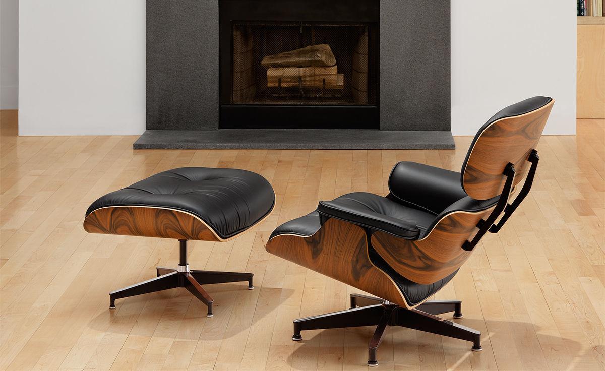 Eames 174 Lounge Chair Amp Ottoman Hivemodern Com