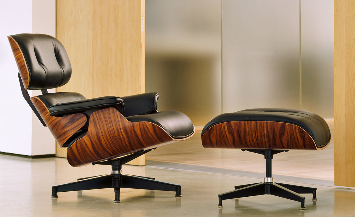 Superb Eames Lounge Chair Ottoman Dailytribune Chair Design For Home Dailytribuneorg