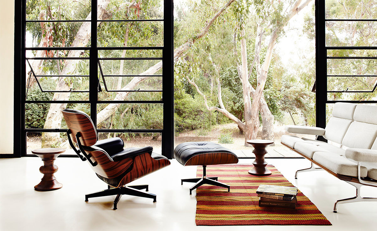 Eames lounge chair ottoman for Modern hive