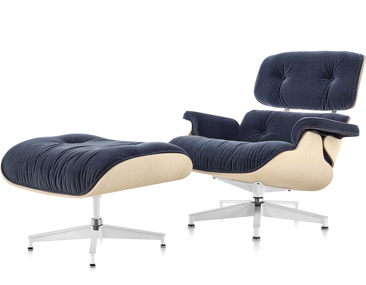 Ordinaire Eames® Lounge Chair U0026 Ottoman In Mohair Supreme