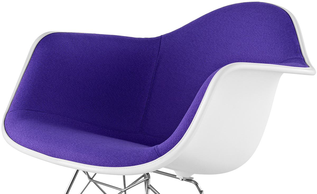 Charmant Eames® Upholstered Armchair With Rocker Base