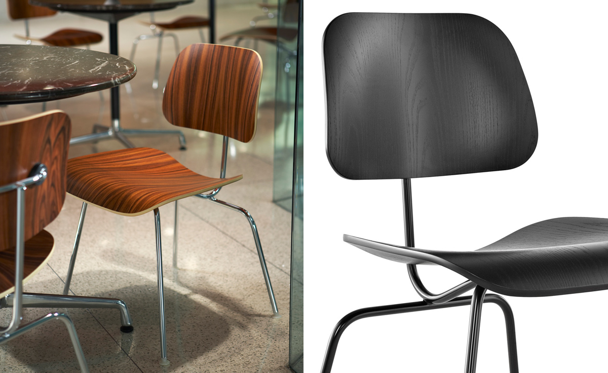 Ordinaire Eames® Molded Plywood Dining Chair Dcm