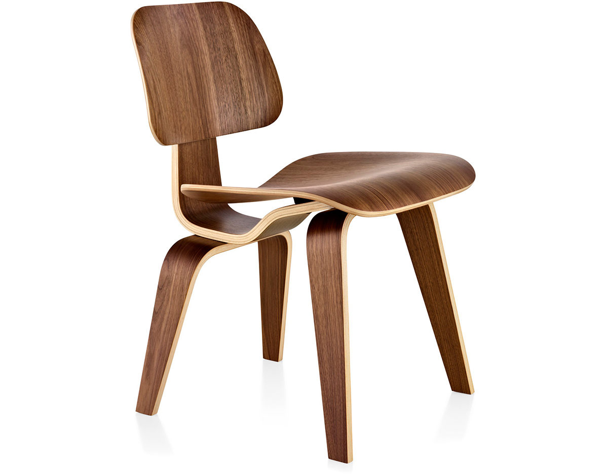eames® molded plywood dining chair dcw  hivemoderncom - overview