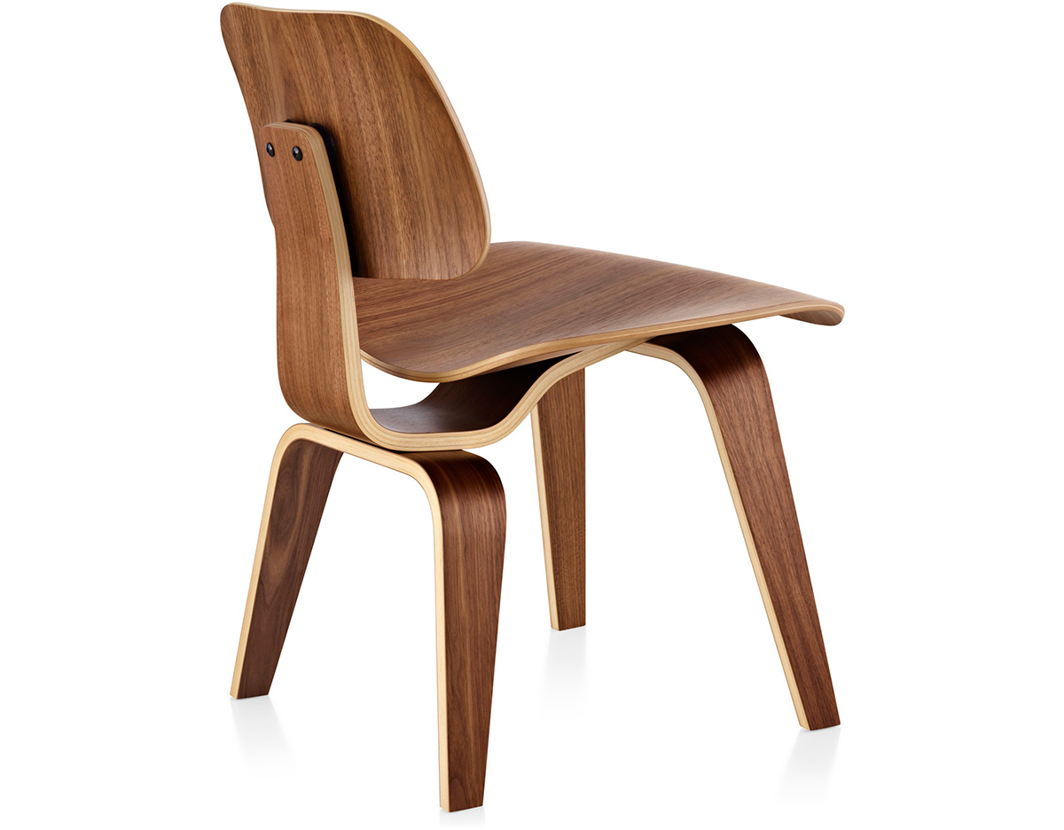 Eames Molded Plywood Dining Chair Dcw hivemodern