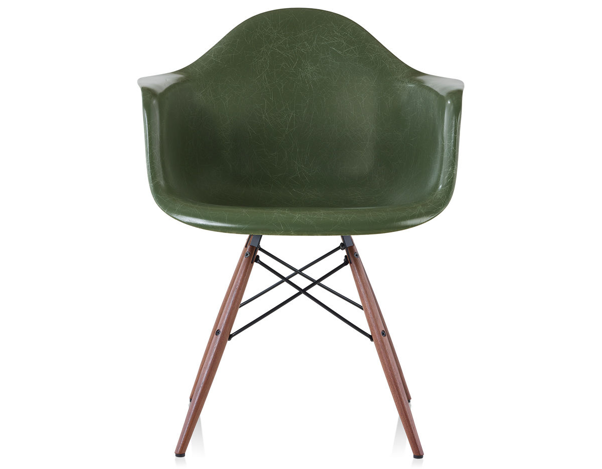Eames® Molded Fiberglass Armchair With Dowel Base ...
