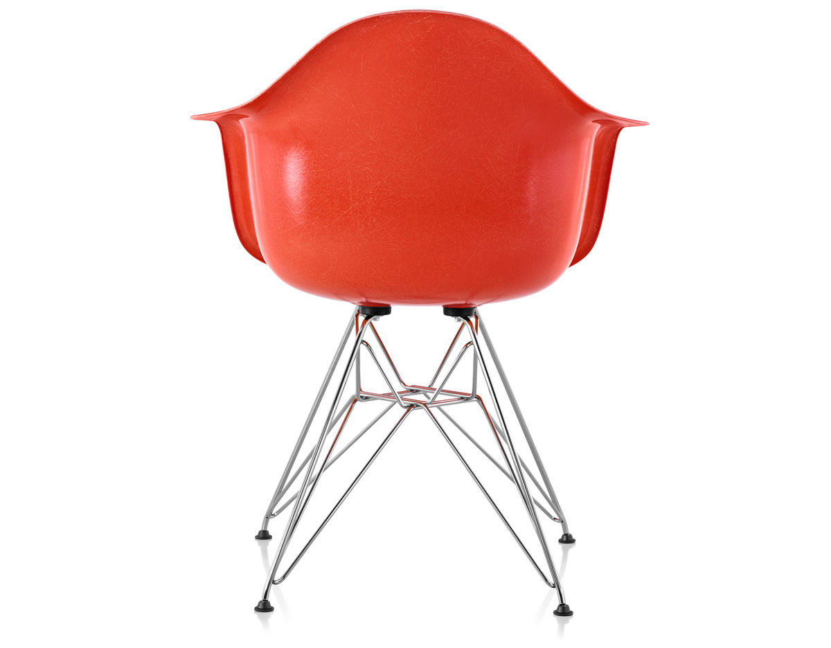Eames Molded Fiberglass Armchair With Wire Base hivemoderncom