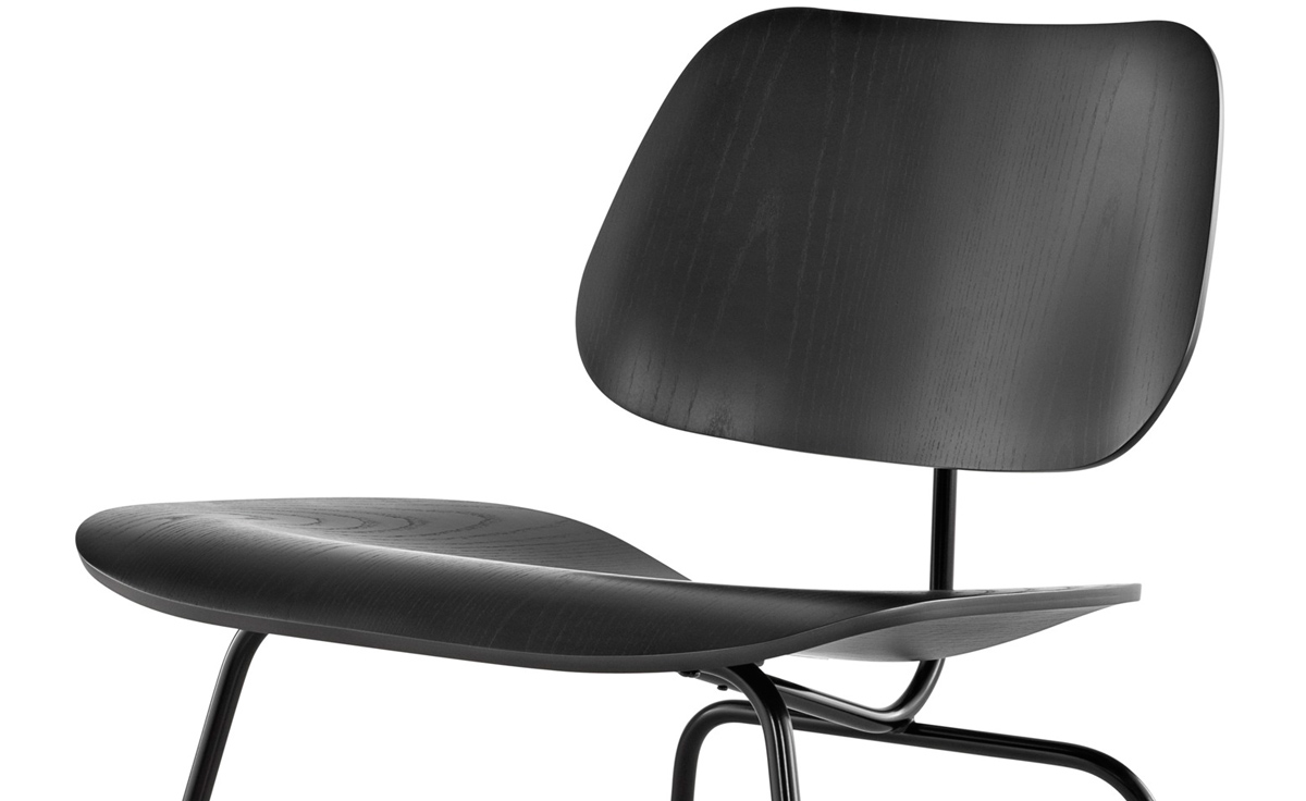 Eames 174 Molded Plywood Lounge Chair Lcm Hivemodern Com