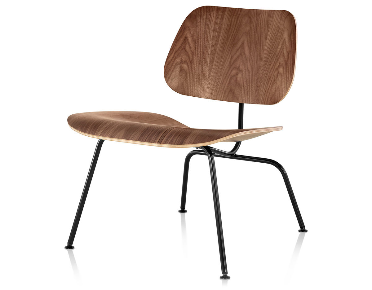 Eames molded plywood lounge chair lcm for Lounge chair eames nachbau