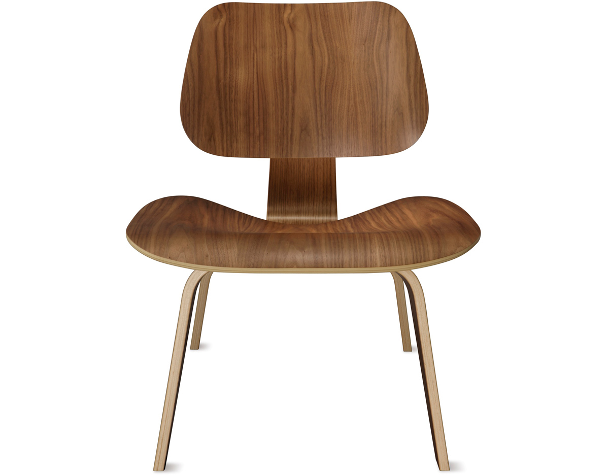 eames molded plywood lounge chair lcw. Black Bedroom Furniture Sets. Home Design Ideas
