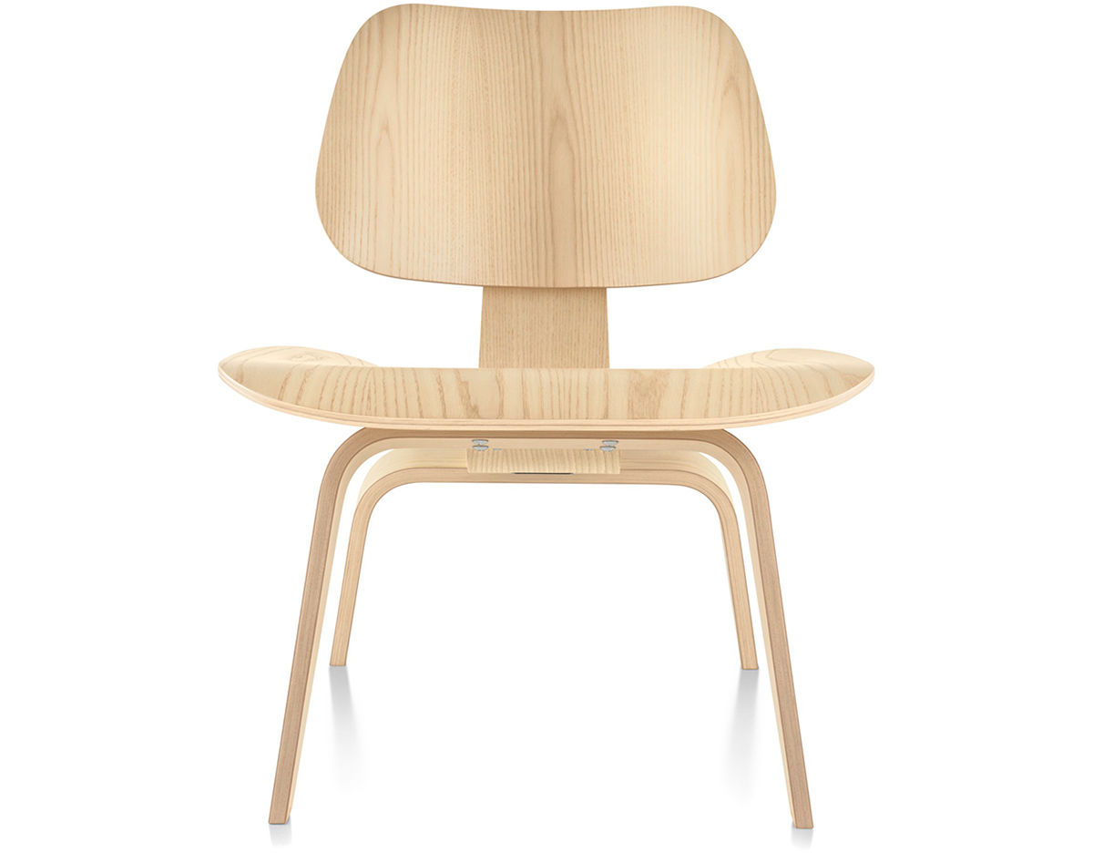 Eames molded plywood lounge chair lcw for Designer charles eames