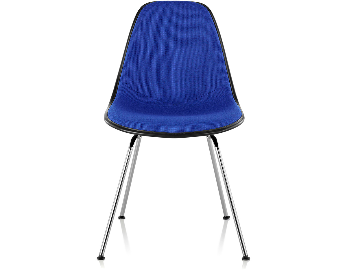 Eames 174 Upholstered Side Chair With 4 Leg Base Hivemodern Com