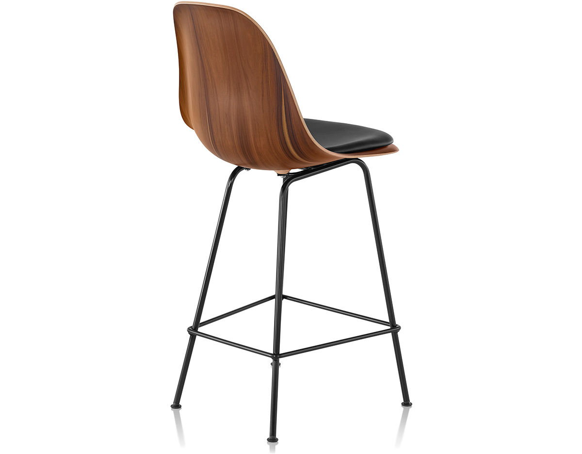 Eames Molded Wood Stool With Seat Pad Hivemoderncom