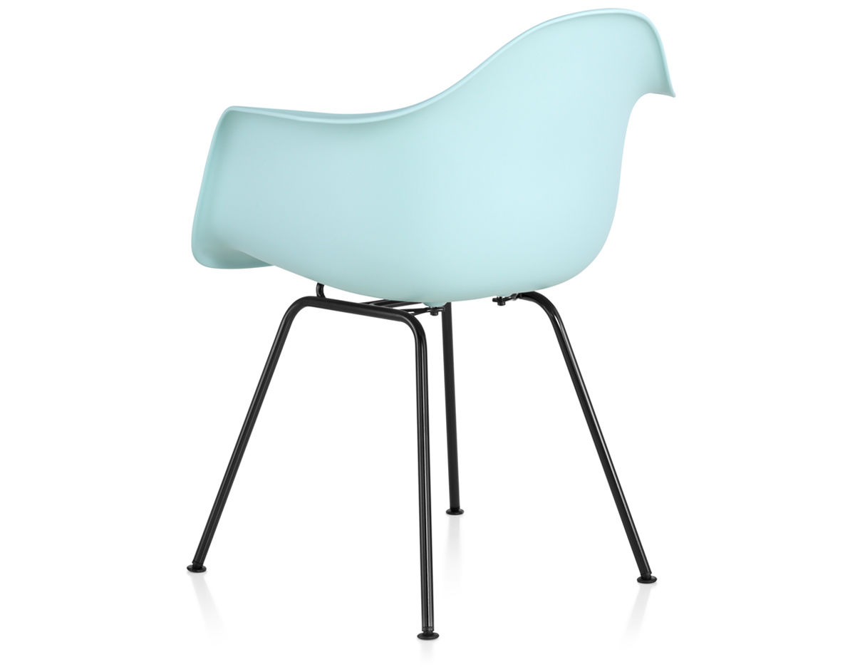 Eames Plastic Armchair : Eames molded plastic armchair with leg base hivemodern