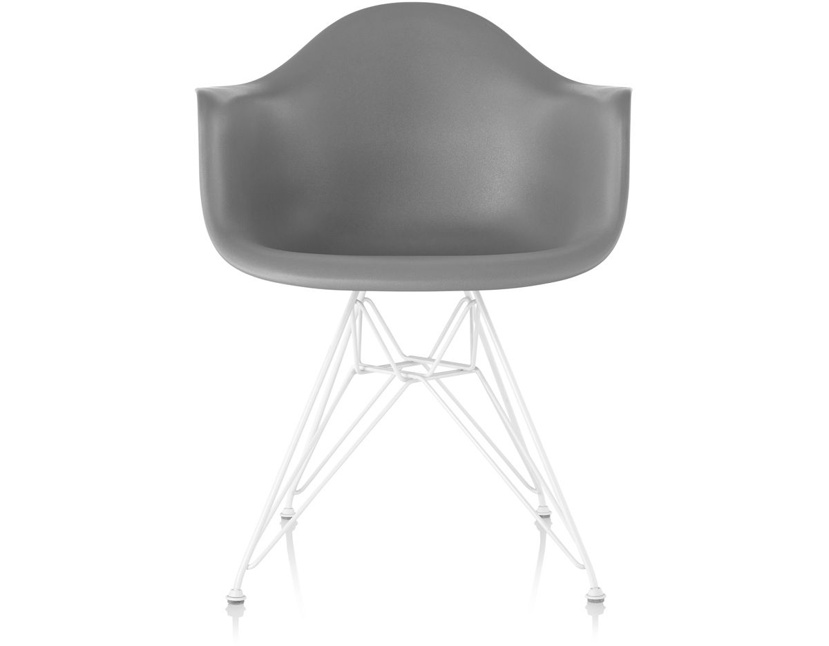 Eames Rocking Chair : Eames® molded plastic armchair with wire base hivemodern.com