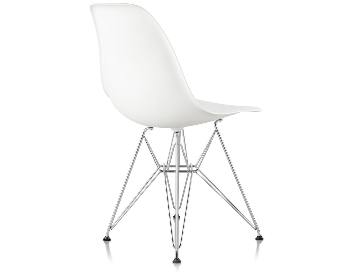 Eames 174 Molded Plastic Side Chair With Wire Base