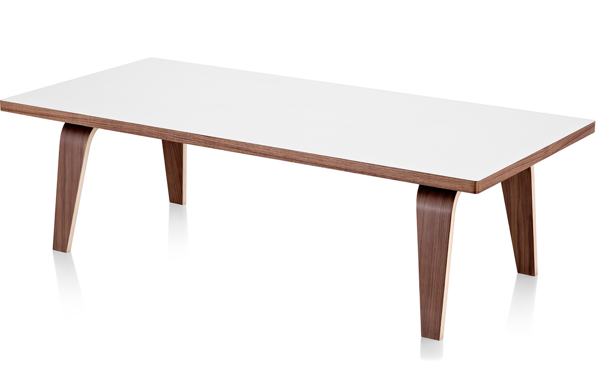 eames rectangular coffee table - hivemodern