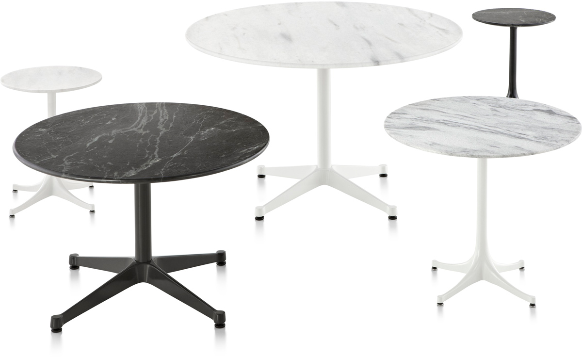 Outdoor Table Part - 28: Eames Round Contract Base Outdoor Table